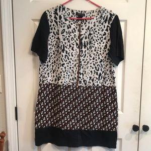 Duro Olowu size L short sleeve dress